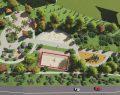 Çayırova Akse mahallesinde park yapımı devam ediyor.