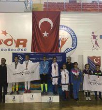 İpek Gürsü, Trabzon'dan bronz madalya ile döndü