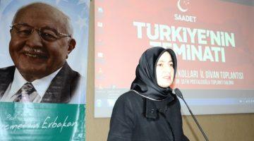 Şengün: Çare, Saadet Partisi