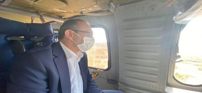 Kuzey Marmara otoyolunu havadan denetledi