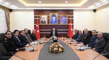 Kocaeli Güvenlik ve Asayiş Koordinasyon toplantısı yapıldı