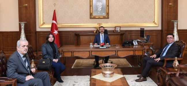 İYİ Parti'den Vali Aksoy'a Ziyaret