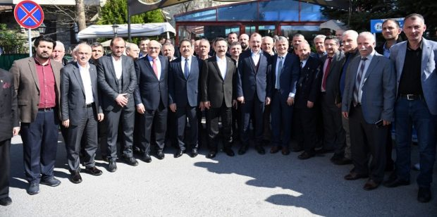 Vali Aksoy, Köprübaşılılarla bir araya geldi