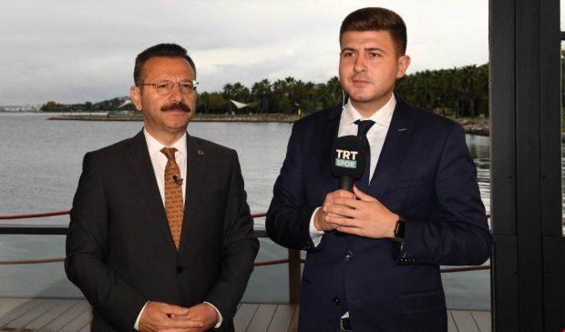 """Vali Aksoy """"Gündem Futbol"""" un canlı yayınındaydı"""
