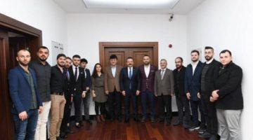 Trabzonlular Vali Aksoy'u Ziyaret Etti