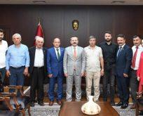 Gebze Ziraat Odası'ndan Vali Aksoy'a Ziyaret