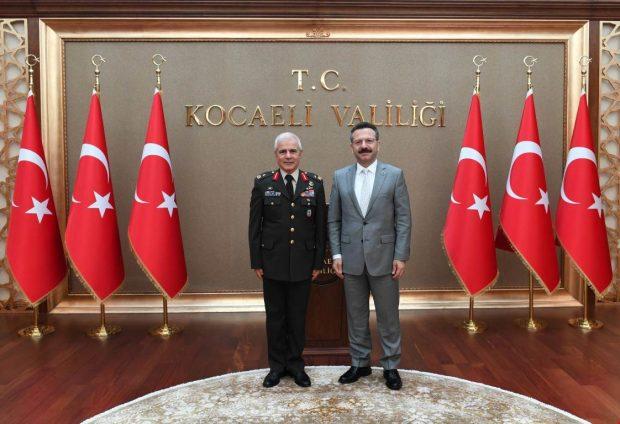 Tuğgeneral Dalkıran'dan Vali Aksoy'a Ziyaret