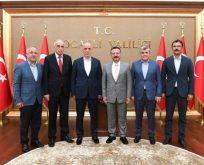 Türk-İş Heyeti Vali Aksoy'u Ziyaret Etti