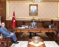 Kaymakam Dursun'dan Vali Aksoy'a Ziyaret