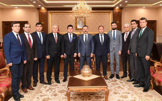Türk Eğitim-Sen, Vali Aksoy'u Ziyaret Etti