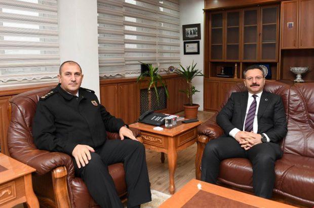 Vali Aksoy'dan İl Jandarma'ya Ziyaret