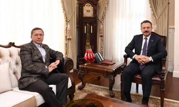 Türkkan'dan Vali Aksoy'a Ziyaret