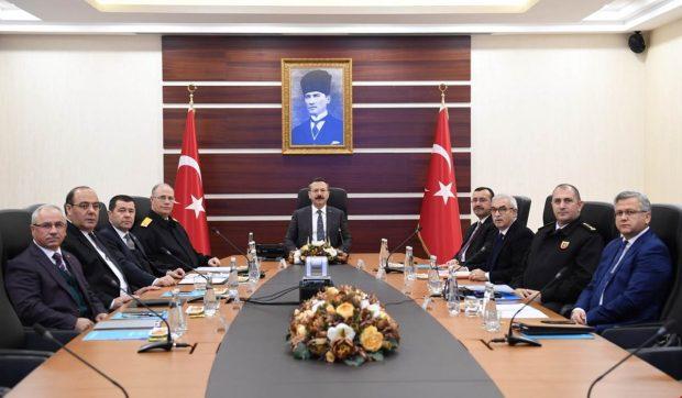 2018'in Son Güvenlik Toplantısı Yapıldı