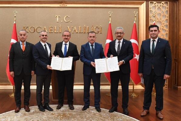 Anadolu Spor Lisesi protokolü imzalandı