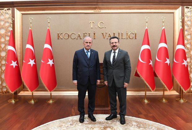 Bakan Turhan'dan Vali Aksoy'a Ziyaret
