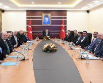 Vali Başkanlığında Seçim Toplantısı