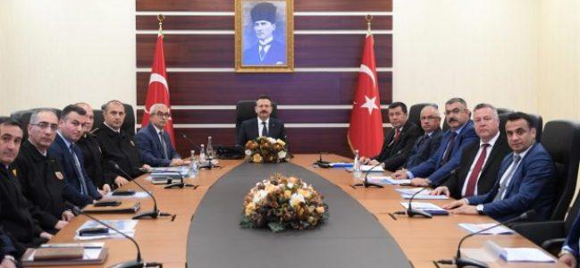 Seçim Güvenlik toplantısı Yapıldı