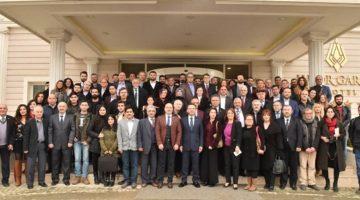10 Ocak Çalışan Gazeteciler Günü münasebetiyle, Vali Hüseyin Aksoy'dan basına kahvaltı