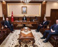 Çakmak'tan Vali Aksoy'a Ziyaret
