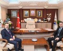 Vali Aksoy'dan Turan'a Hayırlı Olsun Ziyareti