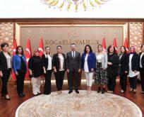 Kocaeli Kadın Girişimciler'den Vali Aksoy'a Ziyaret