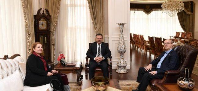 Türkiye Gazeteciler Cemiyeti'ndenVali Aksoy'a Ziyaret