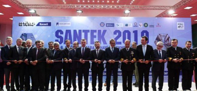 SANTEK 2019 – 6. Doğu Marmara Sanayi ve Teknoloji Fuarının Açıldı