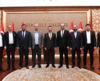 Anadolu Aslanları'ndan Vali Aksoy'a Ziyaret