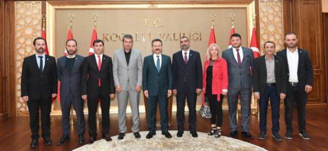 BBP'den Vali Aksoy'a Ziyaret