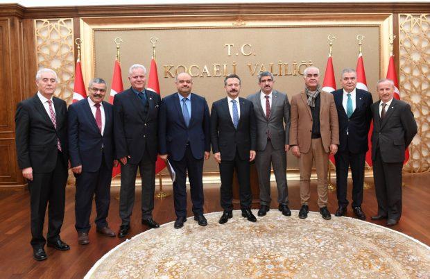 Özel Hastane Yöneticileri Vali Aksoy'la