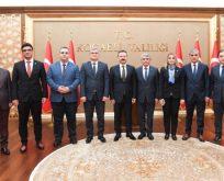 Mali Müşavirler Vali Aksoy'u Ziyaret Etti
