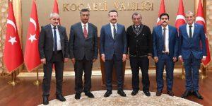 Uluslararası Gazeteciler Cemiyetinden Vali Aksoy'a Ziyaret