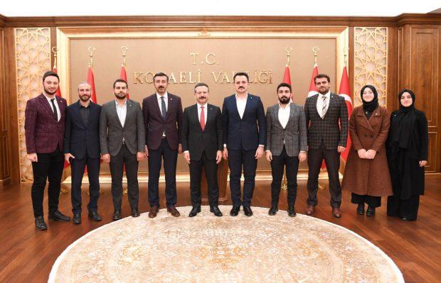 TÜGVA Genel Başkanı Eminoğlu'ndan Vali Aksoy'a Ziyaret