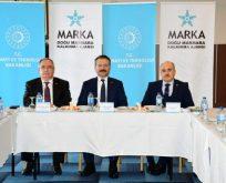 MARKA Vali Aksoy'un Başkanlığında Toplandı