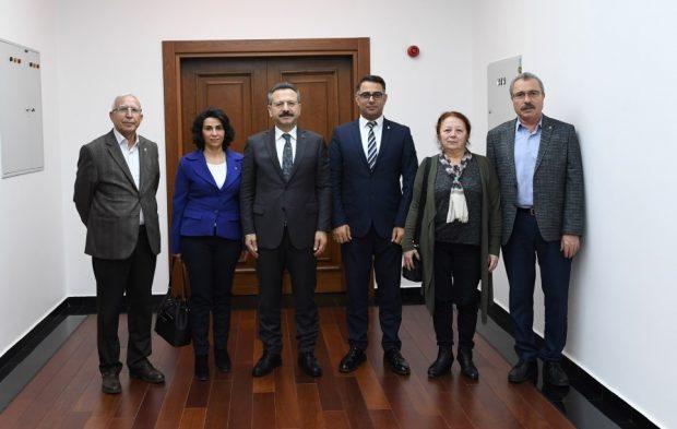 CHP Darıca'dan Vali Aksoy'a Ziyaret