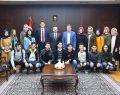 """Vali Aksoy """"Hedef Gelecek"""" projesi hakkında bilgilendirildi."""