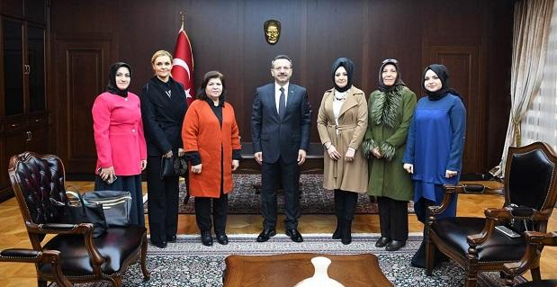 Kentin Kadınları Derneği Vali Aksoy'u Ziyaret Etti.