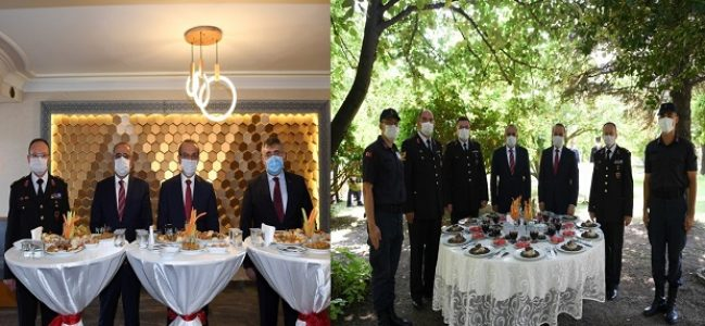 Emniyet ve Jandarma'ya bayram ziyareti