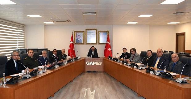 Haftalık İl Güvenlik ve Asayiş Koordinasyon toplantısı yapıldı