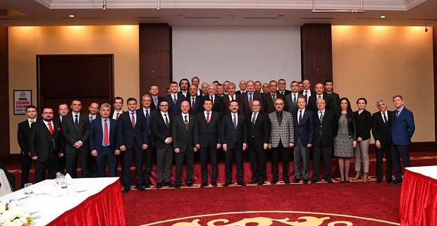 Vali Aksoy,liman işletmecileri ile bir araya geldi.