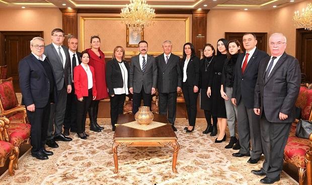 CHP'den Vali Aksoy'a Ziyaret