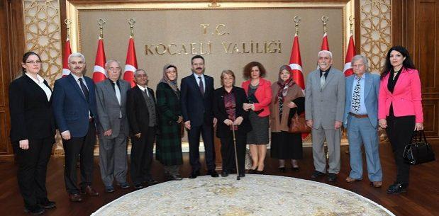 Huzurevi sakinleri, Vali Aksoy'un Misafirleri