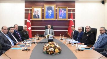 Güvenlik ve Asayiş Koordinasyon toplantısı yapıldı