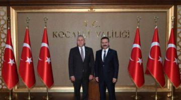 Macar Büyükelçi Vali Aksoy'u Ziyaret Etti