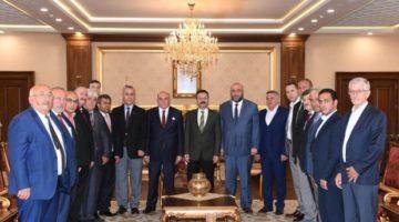 Vali Aksoy,Oda Yönetimini Kabul Etti.