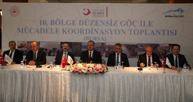 Vali Aksoy 'Düzensiz Göç İle Mücadele' Toplantısında