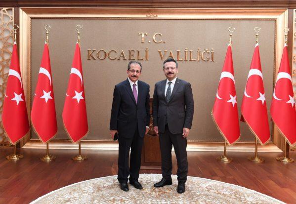 Müftü Cihan,Vali Aksoy'u Ziyaret Etti