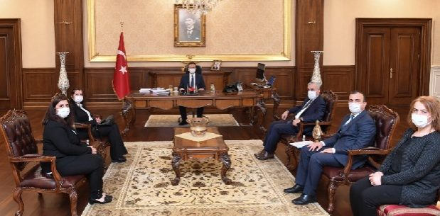 Vali Aksoy'a 'Çevre günü' ziyareti