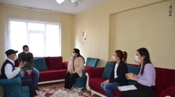 Bayan Yavuz, İzmit'te ziyaretlerine devam etti