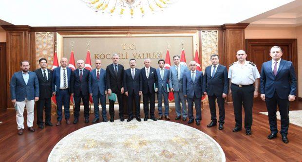 İl  Başkanlarıyla Seçim Güvenliği Toplantısı